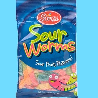 Sour worms